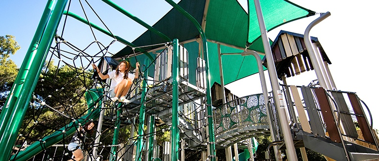 Modern City Custom Playground Design