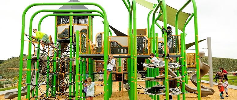 Custom Commercial Playground Design