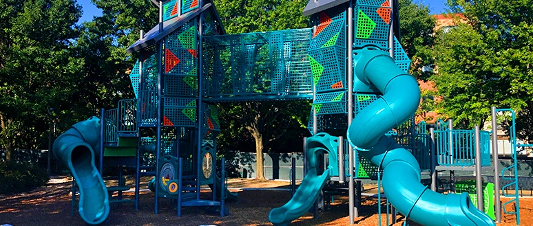 Custom Modern Playground Towers