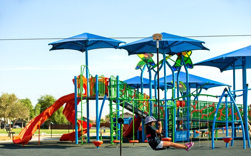 Integrated-Playground-Shade