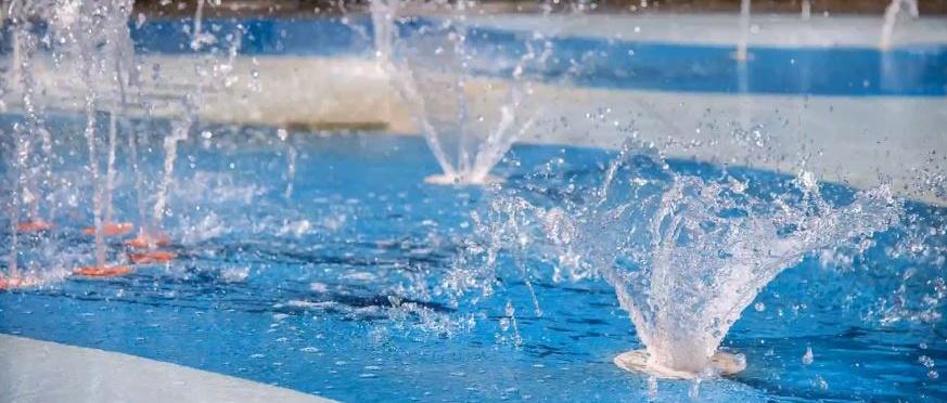 Spray Features for Splash Pad Design