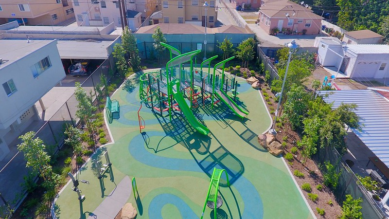 urban play space and city playground ideas