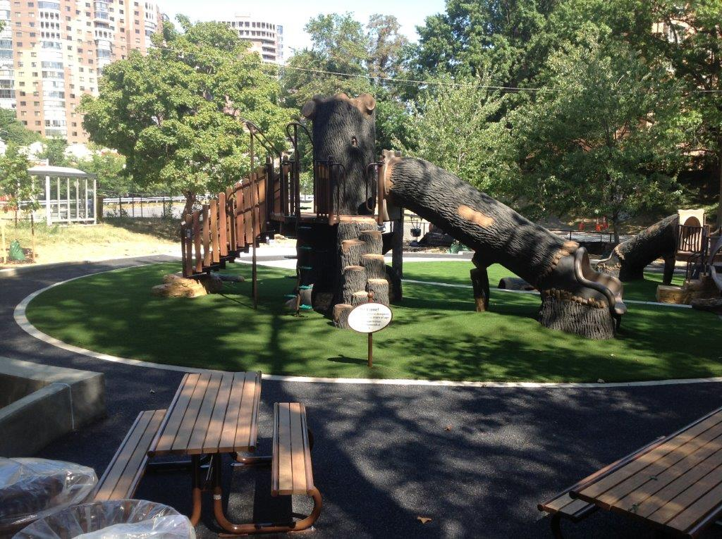 park site amenities - walking trail