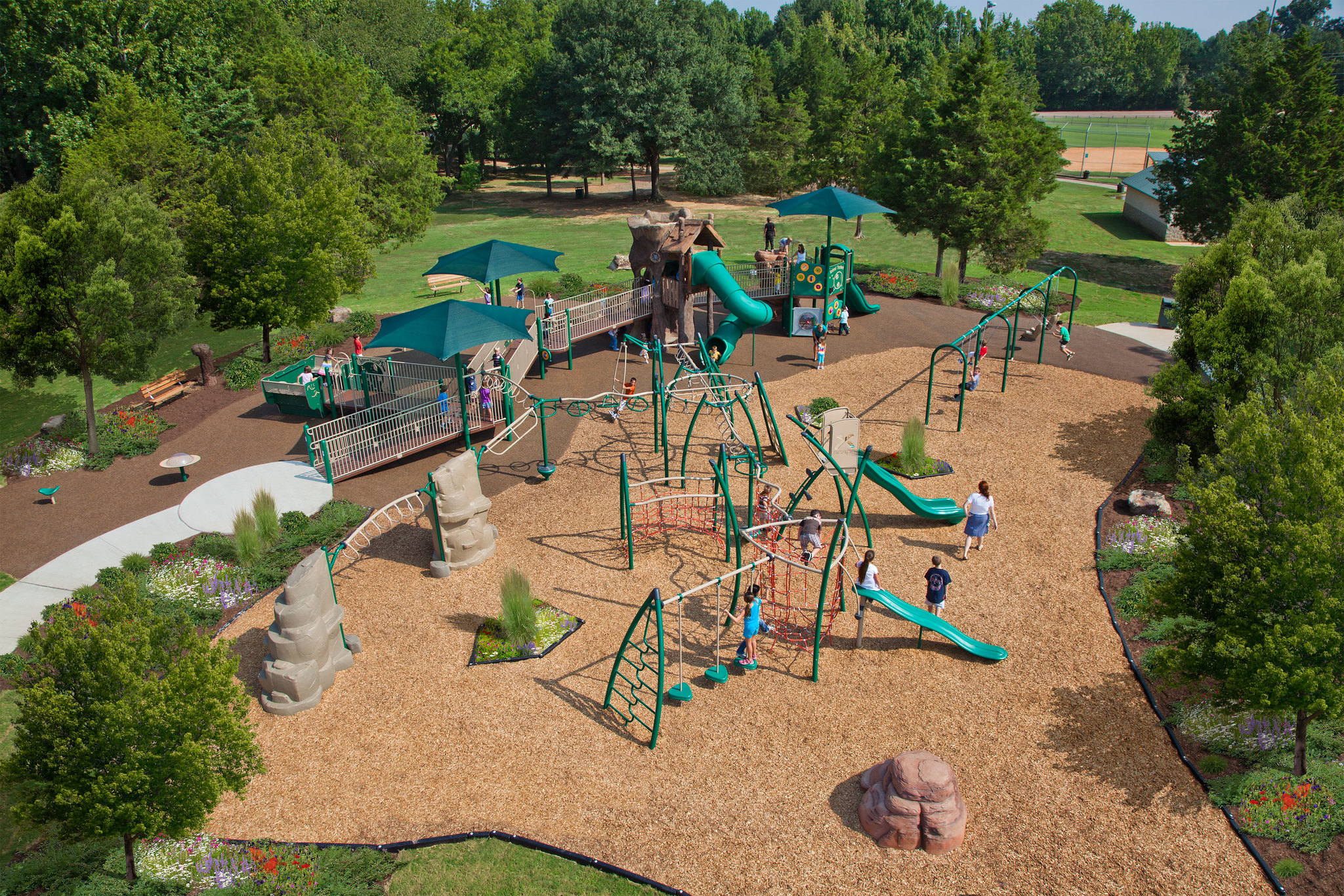 How to Integrate Landscape and Nature into Your Playground Design?