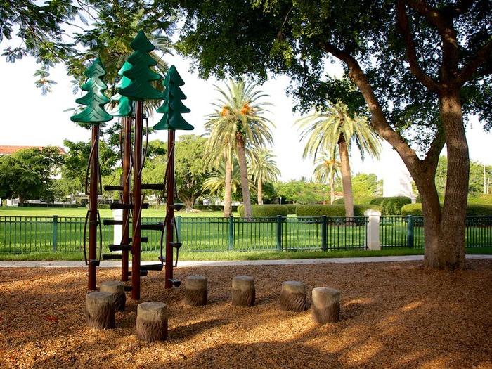 Custom Playground Equipment - Tree Climbers
