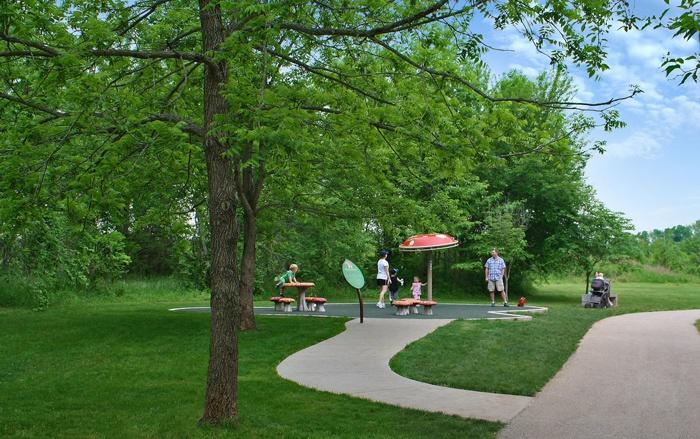 Community Master Plan - Playful Pathway Design