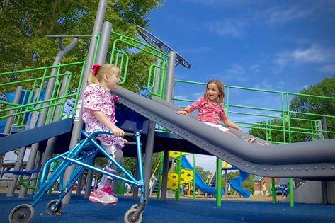 Accessible Public Playground Design