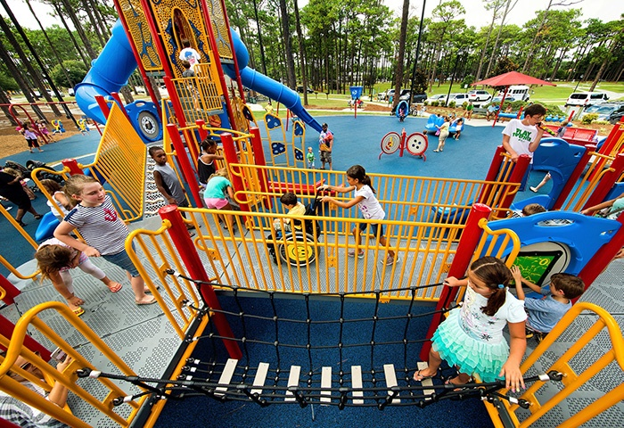 Commercial Playground Design Promoting Inclusive Play